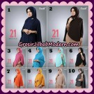 Jilbab Instant Bergo Simple Hijab Seri 21 By Firza Hijab Support Oneto