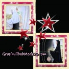 Jilbab Syari Khimar Umroh Exclusive Original by Qalisya Hijab Brand