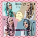 Jilbab Instant Deeja Zigy Sequin Original by Fiori Design