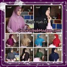 Jilbab Bergo Simple Hijab Seri 23 By Firza Hijab Support Oneto