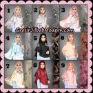 Jilbab Instant Cantik Khimar Cleo Original By dQiara Hijab Brand