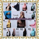 Jilbab Cantik Khimar Lipit Triangle Original By Oneto Hijab Brand