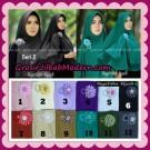 Jilbab Khimar Atika Pet Seri 2 Original By Syahida Hijab Brand