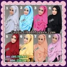Jilbab Cantik New Instant 2 Faces Half Moon Original By Flow Idea