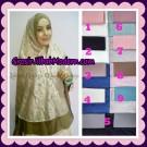 Jilbab Syar'i Brokat Elegan Original by Qalisya Hijab Brand