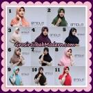Jilbab Bergo Simple Hijab Seri 25 Original By Firza Hijab Brand