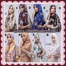 Jilbab Instant Khimar Denara Motif Original By Oneto Hijab Brand
