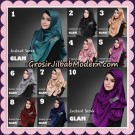 Jilbab Cantik Instant Sarah Glam Original By Flow Idea
