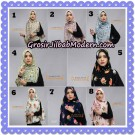 Jilbab Cantik Khimar Denara Motif Bubble Pop seri 1 Original By Oneto Hijab Brand