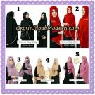 Jilbab Cantik Khimar Risty Daily Original by Fiori Hijab Brand ( Tanpa Inner )
