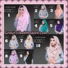 Jilbab Instan 1 Step Hijab Ruby Original By deQiara Hijab Brand