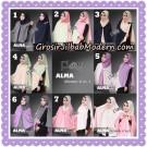 Jilbab Instant Khimar 2 in 1 Alma Original By Flow Idea