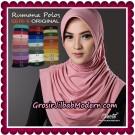 Jilbab Syria Layer Cantik Rumana Polos Seri 6 Original By Oneto Hijab Brand