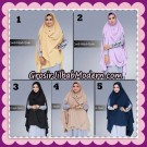 Khimar Cardi Hijab Quin Cantik Original By Fadeya Brand