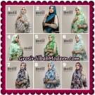 Jilbab Ceruti Khimar Motif Original By Oneto Hijab Brand