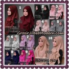 Jilbab Instant Cantik Flowing Pad Original By Flow Idea