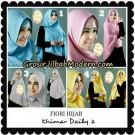 Jilbab Instant Khimar Risty Daily 2 Original by Fiori Hijab Brand