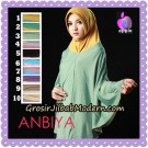 Jilbab Lengan Simple Anbiya Original By Apple Hijab Brand