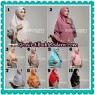 Jilbab Cantik Khimar Embroidery Original By Bayza Hijab Brand