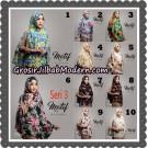 Jilbab Instant Khimar Denara Motif Seri 3 Original By Oneto Hijab Brand