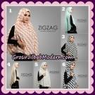 Khimar Instant Denara Zigzag BubblePop Original By Oneto Hijab Brand