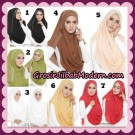 Jilbab Instant 2Loop Swarovsky Original by Ivory Hijab Brand