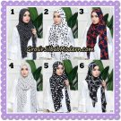 Jilbab Instant Cantik Farha Square Original by Ixora Hijab Brand