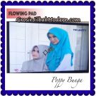 Jilbab Instant Flowing Pad Ala Artis Poppy Bunga Original By Flow Idea