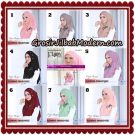 Jilbab Instant Flowing Swarovski Gold Ala Poppy Bunga Original By Flow Idea Hijab
