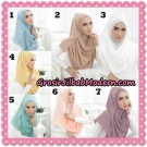 Jilbab Pashmina Instant Khaira Original by Ivory Hijab Brand