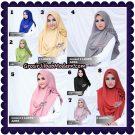 Jilbab Cantik Instan 2 Faces Azwa Original By deQiara Hijab Brand
