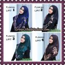 Jilbab Cantik Instant Flowing Lipit Original By Flow Idea Hijab
