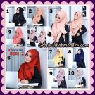 Jilbab Instant Cantik Flowing Pad Seri 2 Original By Flow Idea Hijab