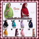 Khimar Instant Cherulita Polos Seri 2 Original By Oneto Hijab Brand