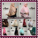 Jilbab Cantik Abel Embroidery Khimar Original By Bayza Hijab Brand