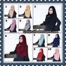 Jilbab Instant Akasia Lipit Original By Flow Idea Hijab