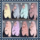 Jilbab Instant Zahrah 2 Loops Original By Flow Idea Hijab