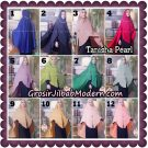Jilbab Syari Khimar Tanisha Pearl Original by Qalisya Hijab Brand