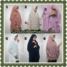 Jilbab Cantik Eid Mubarok Premium Khimar Original By Oneto Hijab Brand