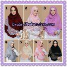 Jilbab Instant Lily Bergo Brukat Original By Narinda Hijab Brand