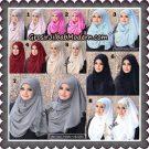 Jilbab Instant Pearly Kezora By Flow Idea Hijab Brand