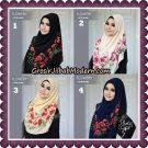 Jilbab Instant 1 Step Hijab Flowery Original By Flow Idea Hijab