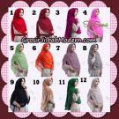 Jilbab Instant Cherulita Polos Seri 5 Original By Oneto Hijab Brand